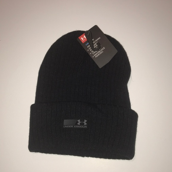 1b69e5bfd1d Under Armor Knit Hat - Black
